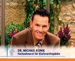 Dr. Konik beim SWR