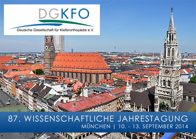 Die 87. Wissenschaftliche Jahres- tagung der DGKFO in München