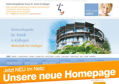 Kieferorthopädie Stuttgart Hompage