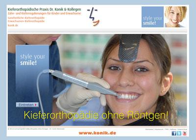 Kieferorthopädie ohne Röntgen Praxis Dr. Konik & Kollegen