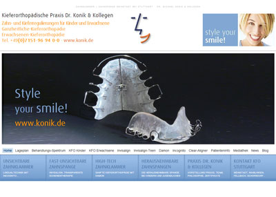 Zahnklammer Special-Website